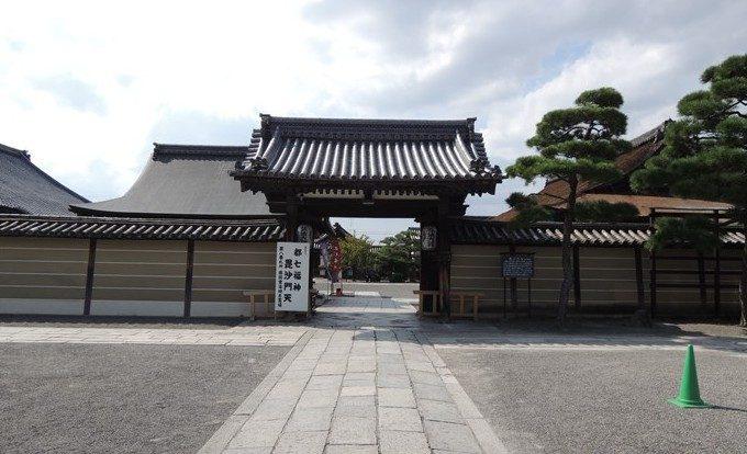 26毘沙門堂の門