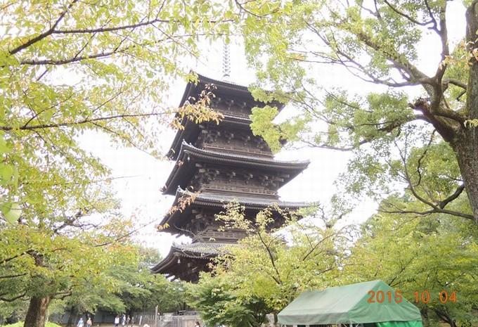 東寺♪五重塔(日本一)の高さは約55メートル!散策日記