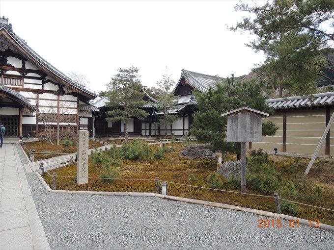 7庫裏前の庭園