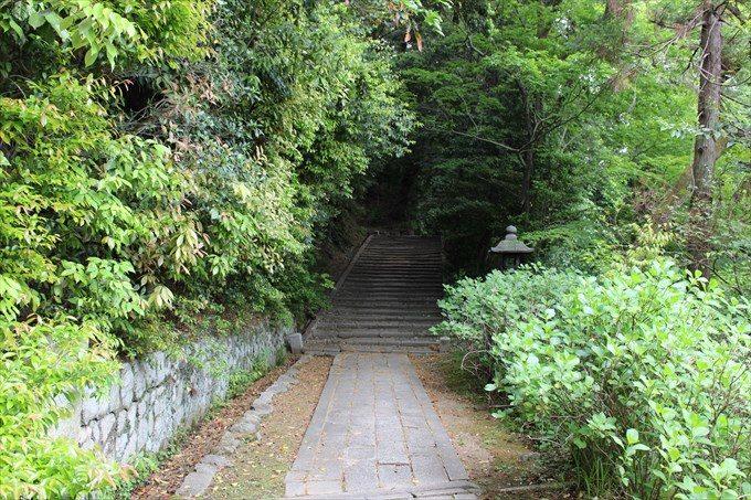 19密厳堂への道