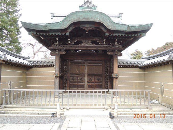 20勅使門(前側から)