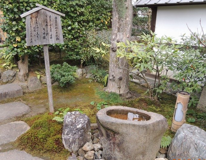 37圓徳院の手水鉢