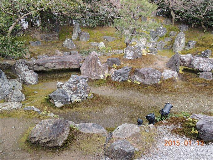 39圓徳院の北庭3