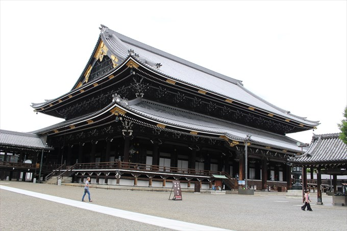 東本願寺を散策♪その見どころは?御朱印はあるの?