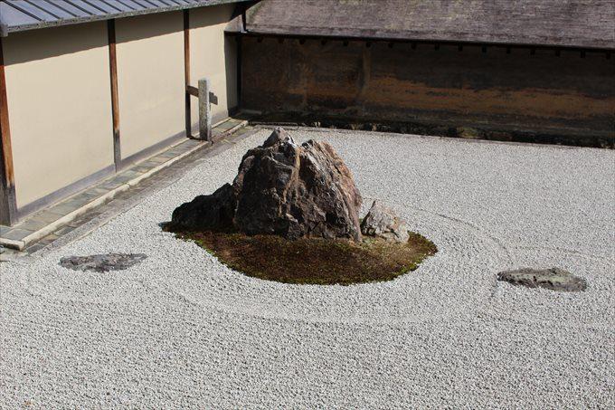 20石庭の石(左端)