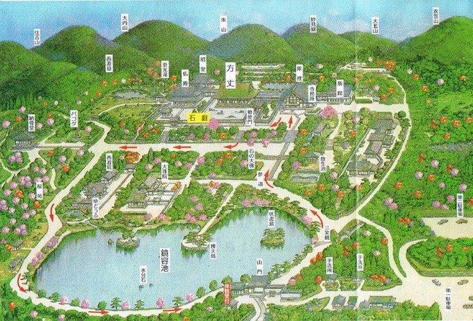 パンフレット地図