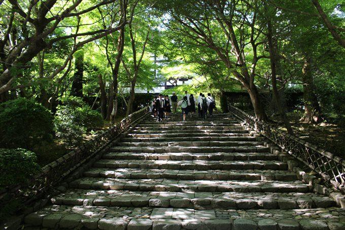 10参道の石段