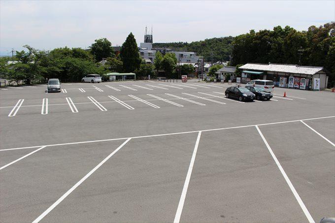 1仁和寺駐車場