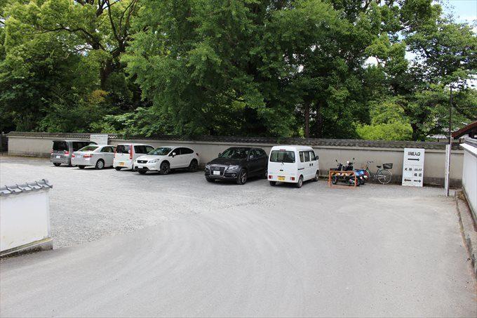 2随心院駐車場