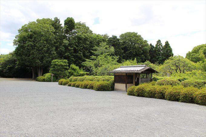 43拝観入り口から見た小野梅園