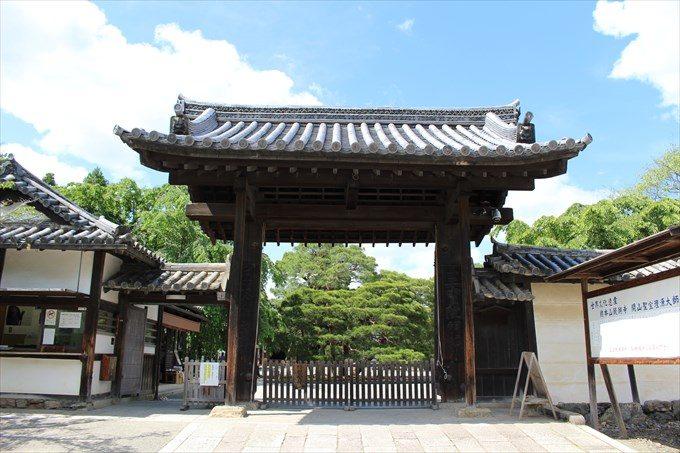1醍醐寺三宝院の門1
