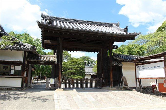 2醍醐寺三宝院の門2