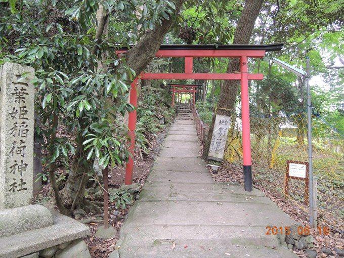 37二葉姫稲荷神社鳥居