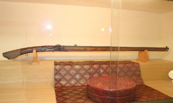 8日本最古の種子島銃