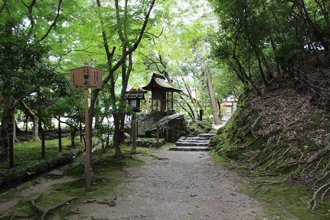 32岩本神社を振り返ったところ
