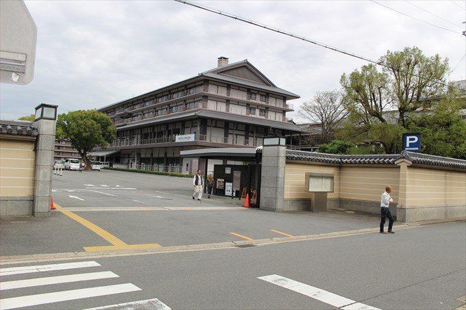 1西本願寺の駐車場1