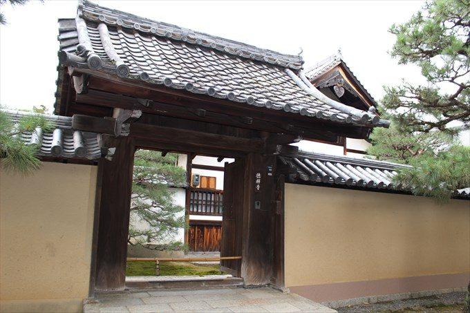 45徳禅寺の門