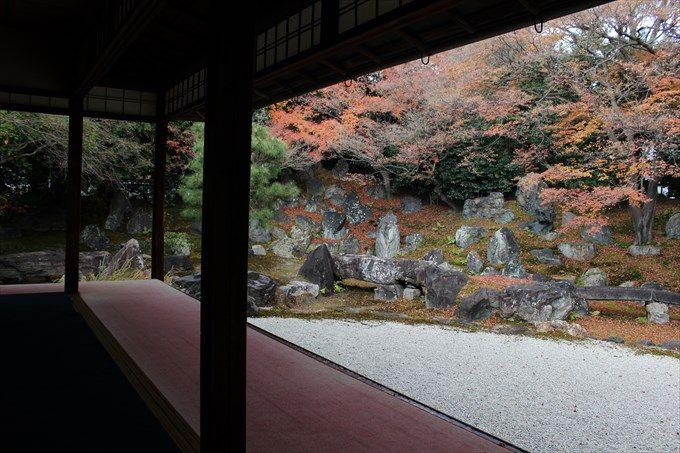 39圓徳院の北庭