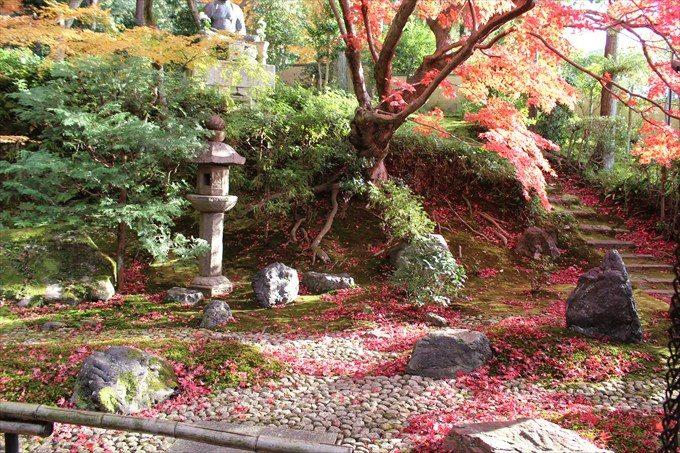71栄摂院の庭
