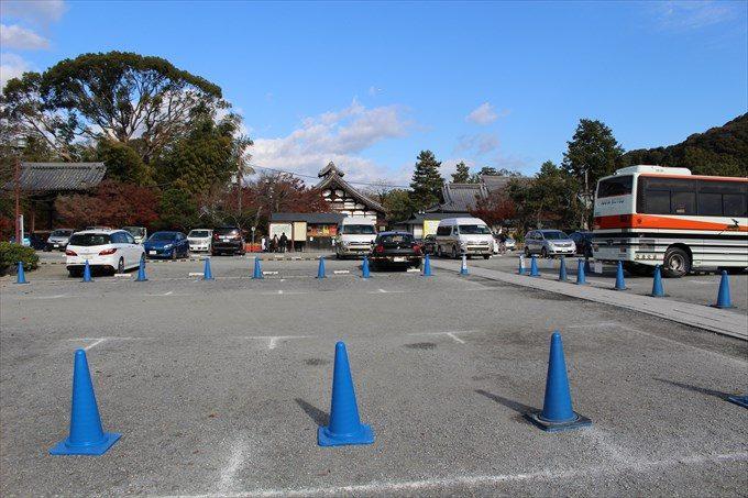 1高台寺の駐車場