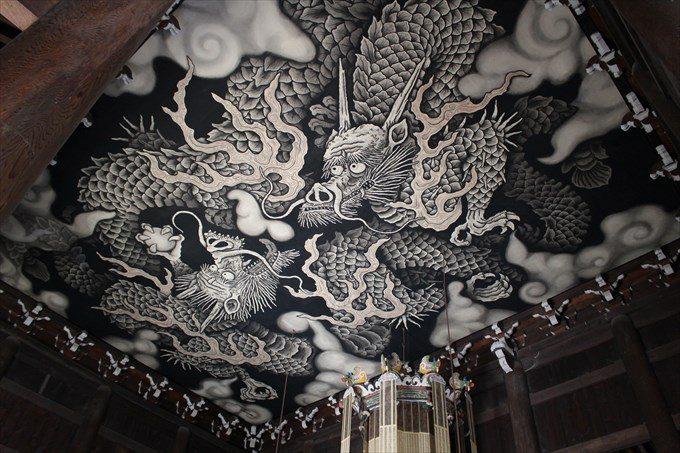 28天井の双龍図2
