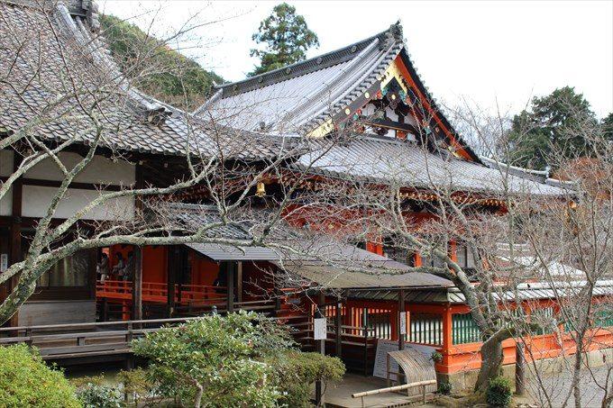 32宸殿から見た本堂