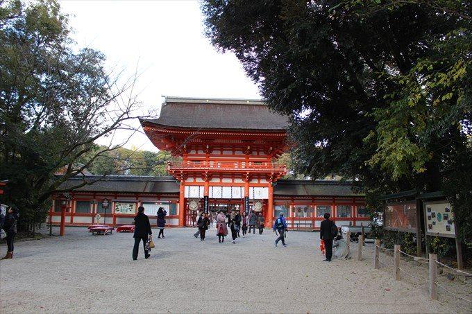 7下鴨神社の楼門
