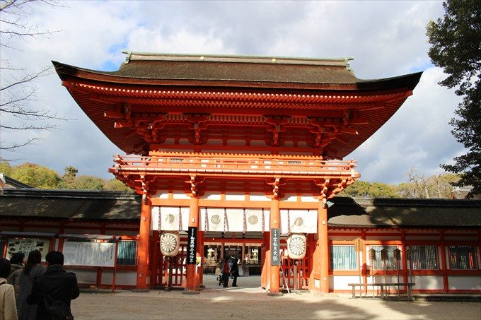 8下鴨神社の楼門2