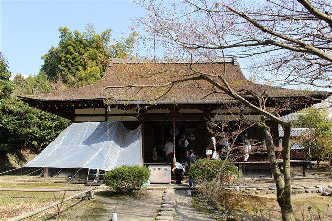 57勧修寺の本堂
