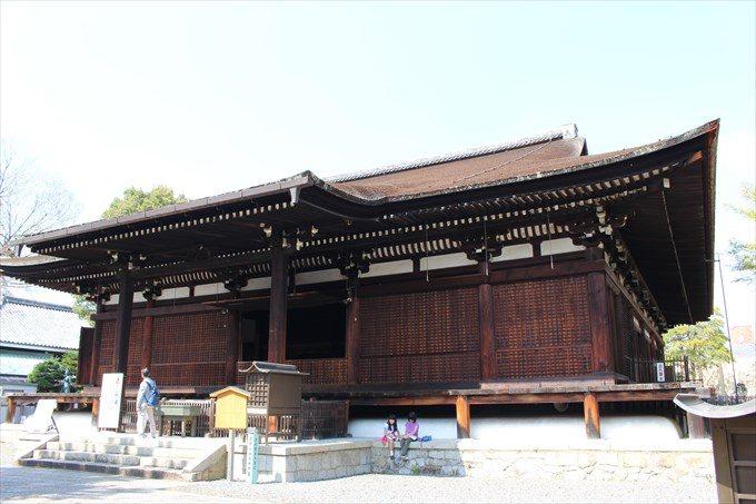 18千本釈迦堂の本堂