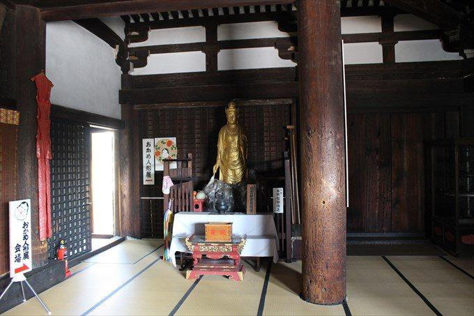 33本堂内の慈雲観音菩薩像