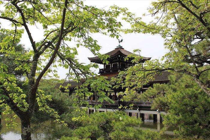 33.葉桜と泰平閣