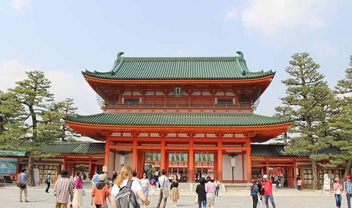 3.平安神宮の応天門