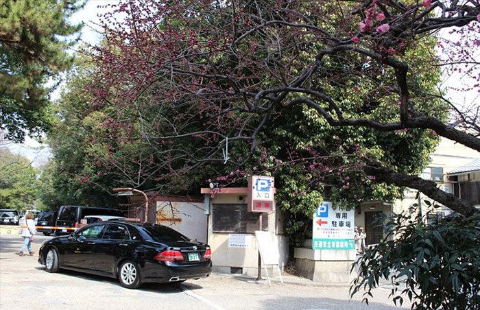 2.駐車場入り口